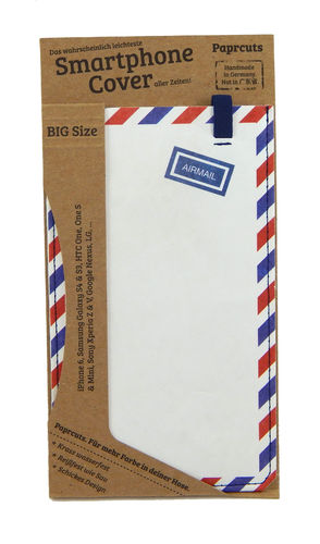 Smartphone Cover aus Tyvek® - Airmail (Big)