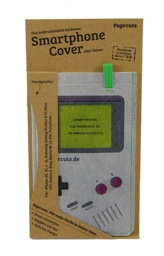 Smartphone Cover aus Tyvek® - Game, Boy! (Regular)