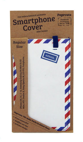 Smartphone Cover aus Tyvek® - Airmail (Regular)