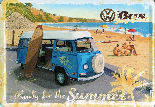 VW BUS - Ready for the Summer