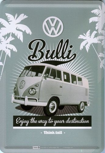 VW Bulli - Enjoy the way