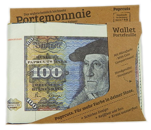 Portemonnaie aus Tyvek® - 100 Mark (Big)